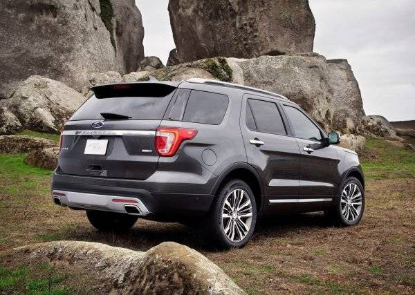 Американский внедорожник Ford Explorer 2016