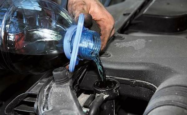 Промывка системы охлаждения двигателя своими руками на мерседес