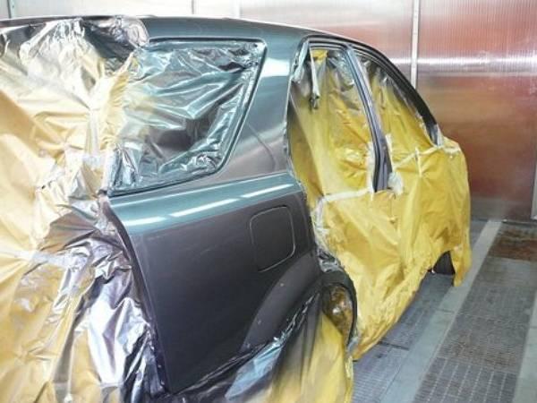 Покраска автомобиля своими руками от А до Я 56