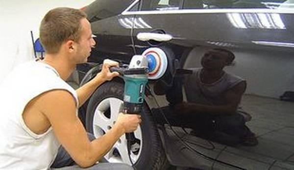 Полировка машины своими руками