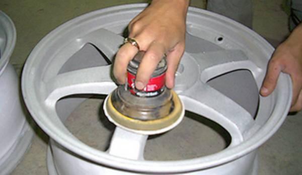 Как очистить диск от краски своими руками 306